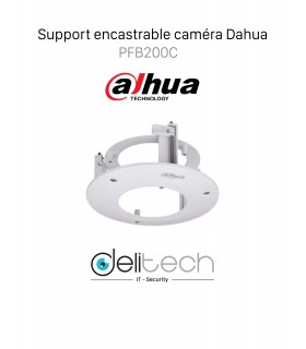 Support encastrable caméra Dahua PFB200C