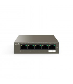 TENDA SWITCH POE 4 PORTS  TEF1105P-4-63W