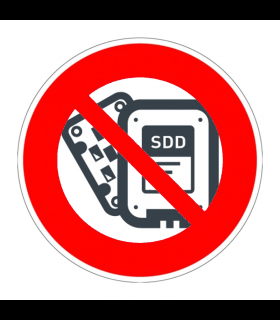 Pas de SSD
