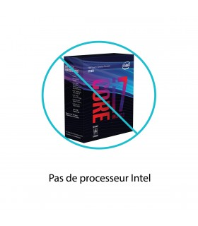 Pas de processeur Intel