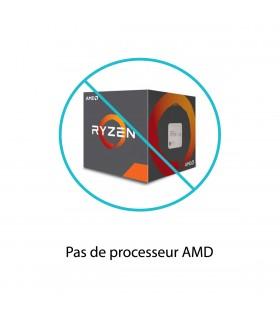 Pas de processeur AMD