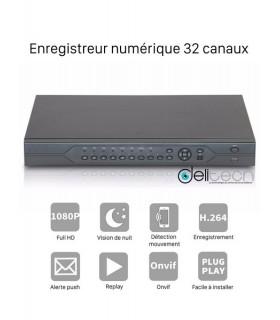 ADVR Delitech Advr7032E Enregistreur numérique 32 voies FullHD 3 en 1 DVR & NVR