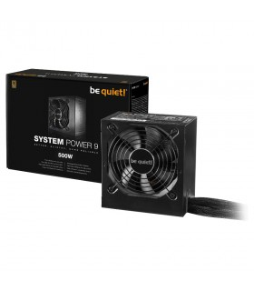 Be quiet! System Power 9 500W 80PLUS Bronze