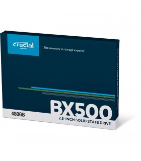 SSD Crucial BX500 480 Go Go (2,5 pouces / 7mm)  CT480BX500SSD1