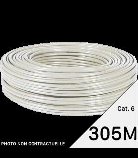 Bobine de câble réseau catégorie 6 305M