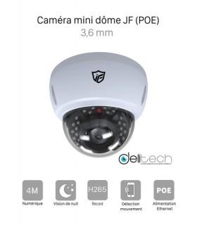 CAMÉRA JF-IPC-BM4240-IR2 VIDÉOSURVEILLANCE MINI DOME de Sécurité 4M IP 3,6mm JF Tech