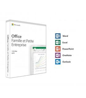 Microsoft Office Famille et Petite Entreprise 2019 Licence 1 utilisateur pour 1 PC ou Mac