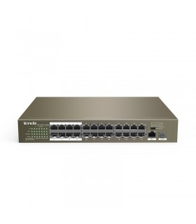 Switch POE RJ45 24 ports Tenda| TEF1126P-24-250W