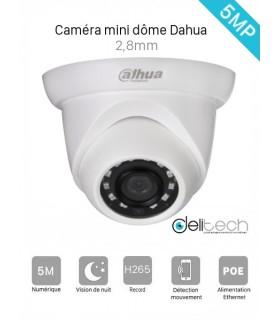 CAMÉRA DAHUA 5MP IPC-HDW1531S 2,8mm