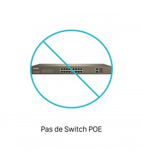Pas de Switch POE