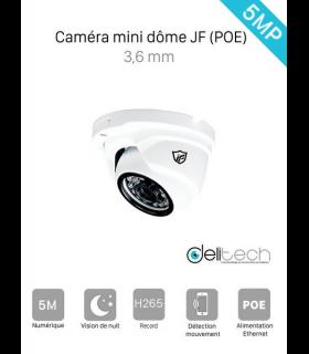 CAMÉRA VIDÉOSURVEILLANCE JF Tech MINI DOME 5M IP 3.6mm  IPC-HE2351L-IR2