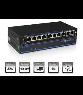 UTEPO SWITCH POE 8+2 PORTS UTP3-GSW0802-TP120