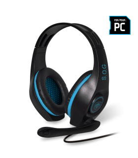 Casque micro Spirit of Gamer Pro-H5 - Bleu