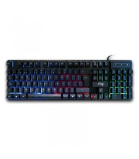 Pack Clavier Azerty + Souris + Casque + Tapis | KM401G SPYKER