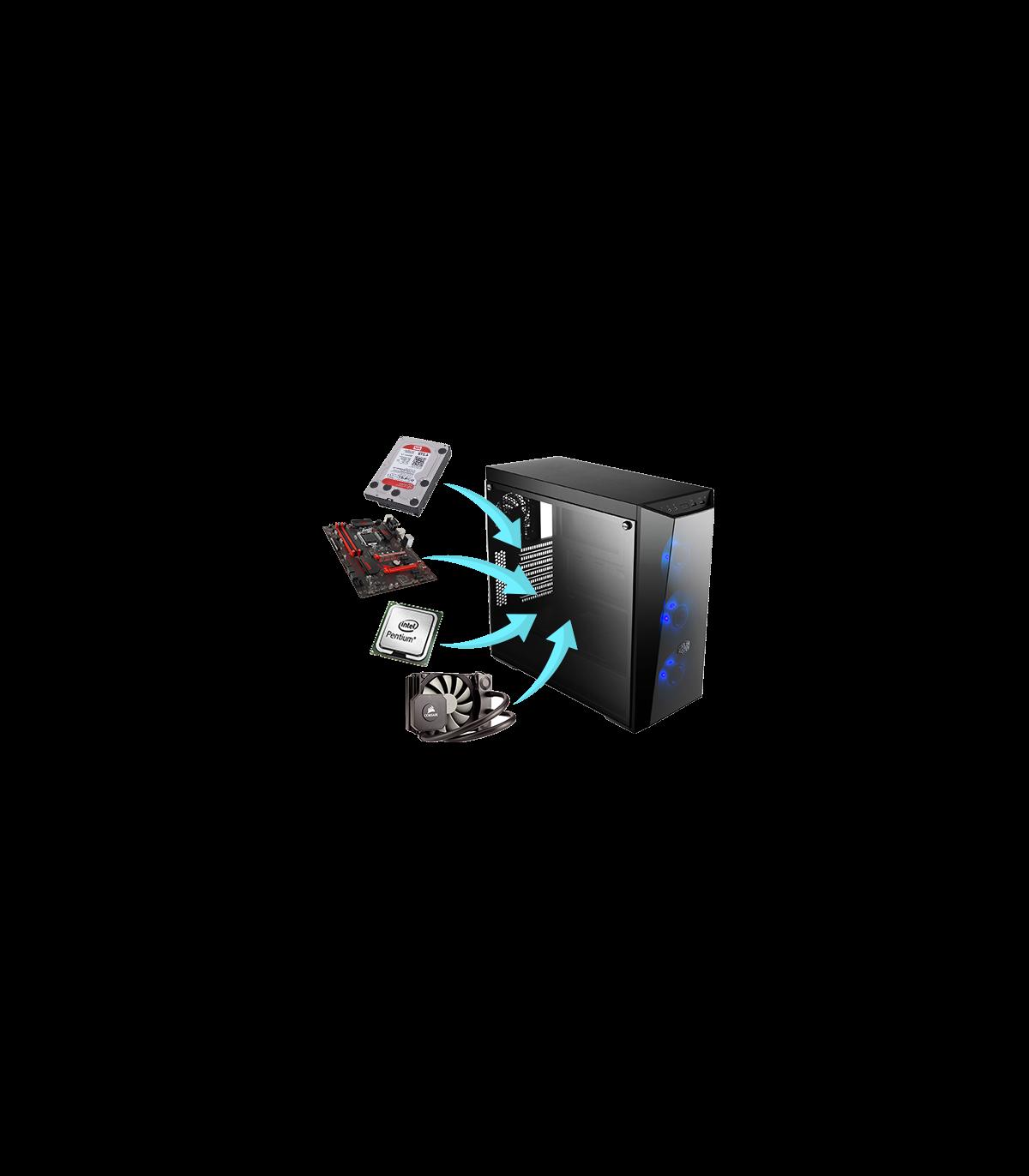 Créer mon PC