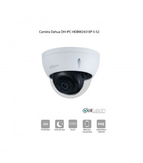 CAMÉRA Dahua IPC-HDBW2431EP-S-S2 IP POE 4M 2,8mm