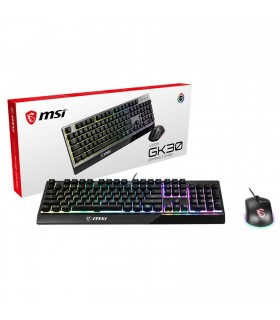 Pack Clavier et souris Gaming MSI Vigor GK30 + Clutch GM11