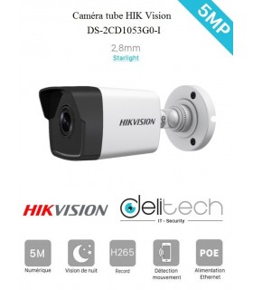 DS-2CD1053G0-I CAMÉRA HIK Vision 5MP 2,8mm