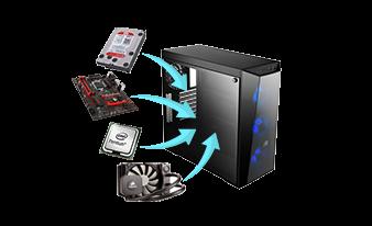 PC sur mesure - configurez votre PC Gamer et profesionnel en ligne