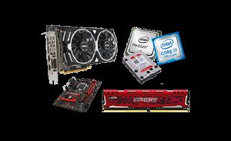 Tous nos composants et périphériques pour PC, Carte mère, Processeur, Mémoire vive, Carte graphique, SSD